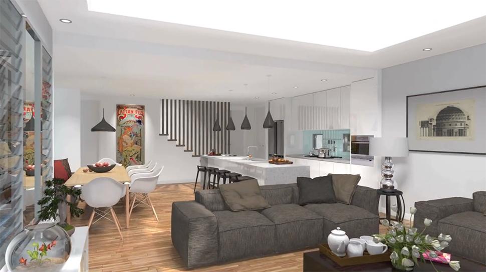 artlantis render studio. Black Bedroom Furniture Sets. Home Design Ideas